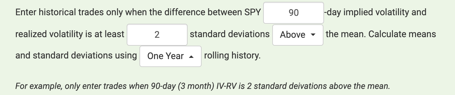 IV vs. RV Std Screenshot